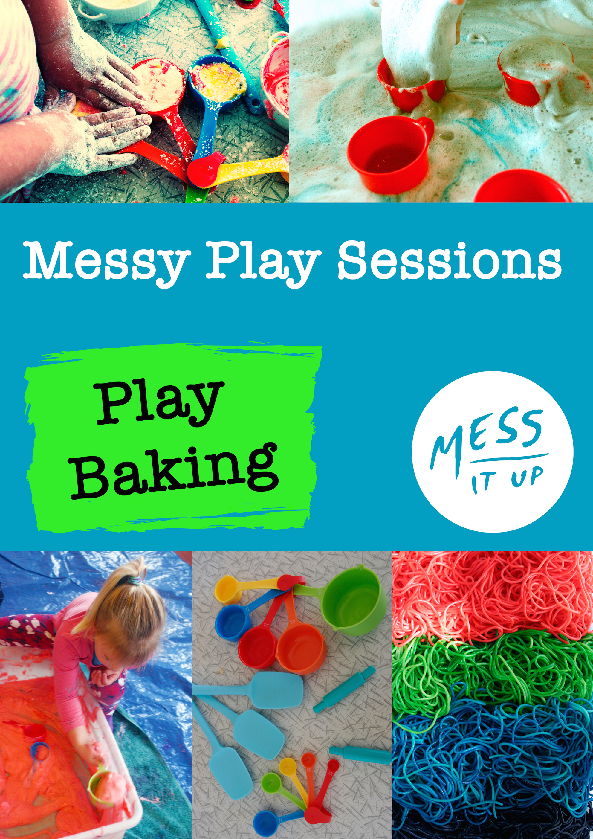 Who doesn't love to get messy with baking