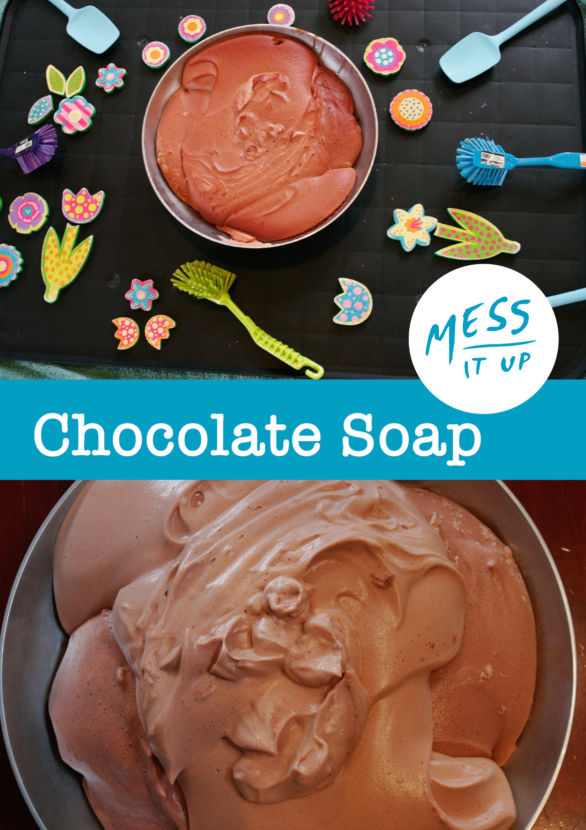 Chocolate Soap Slime
