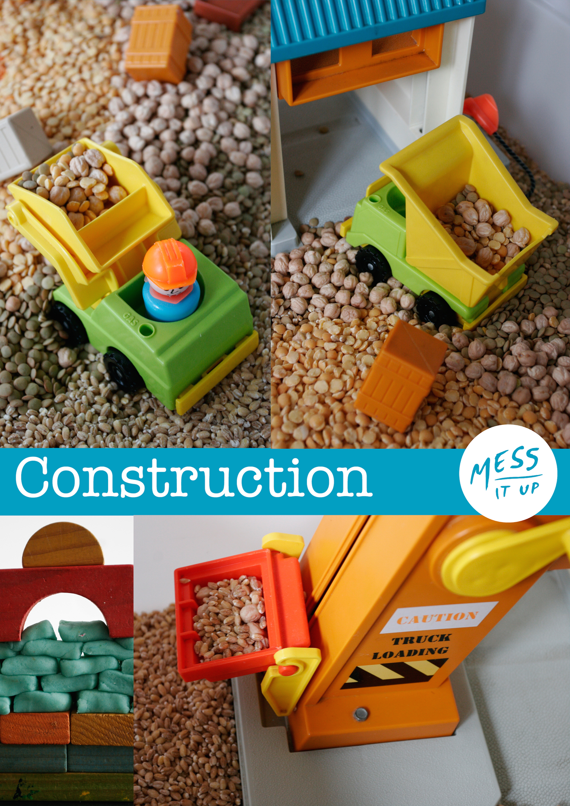Construction Messy Play